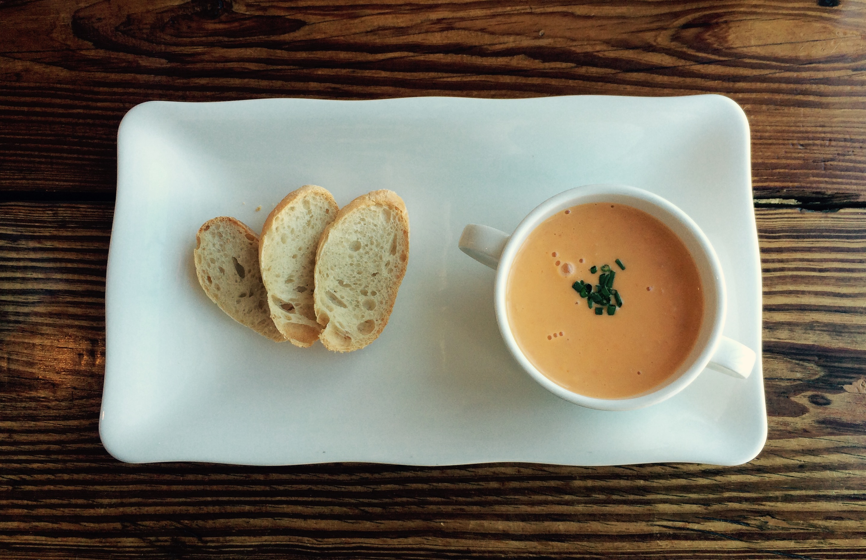 Alesia lobster bisque
