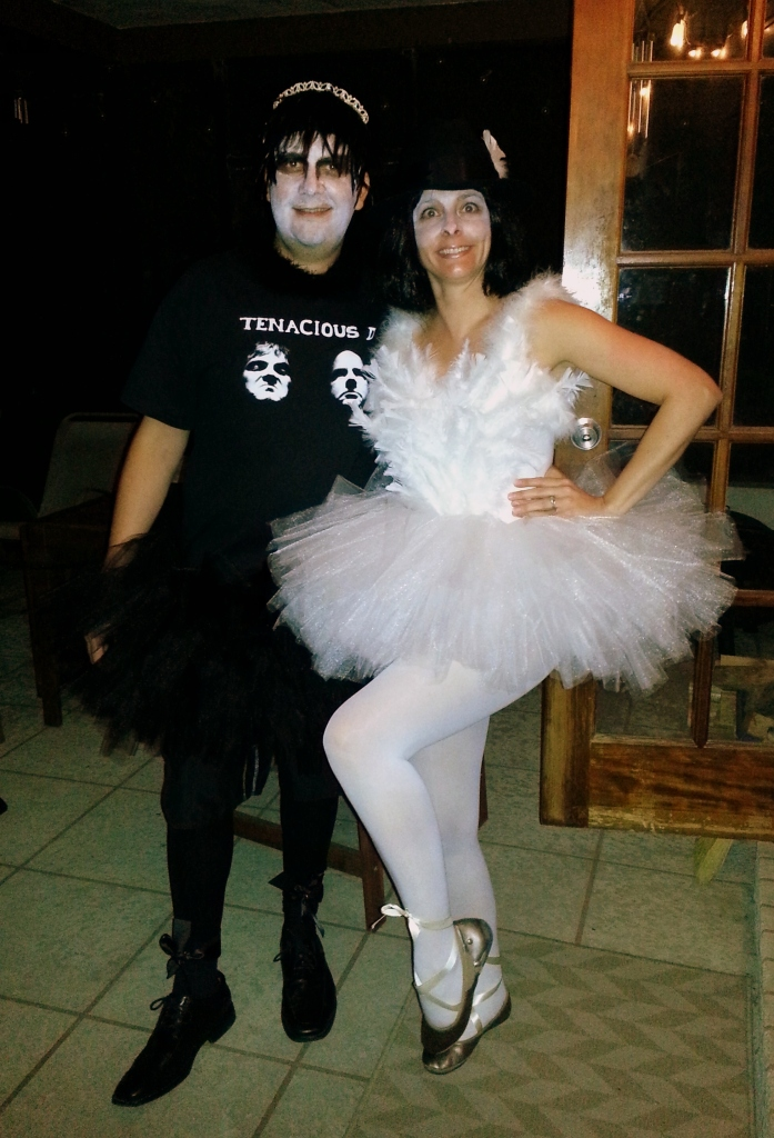 Jack Black and White Swan
