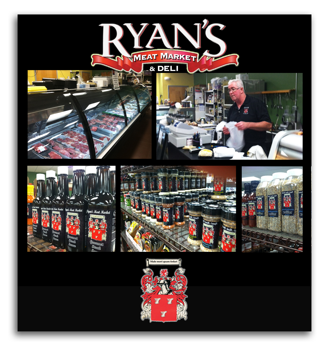 Ryan's Meat Market - collage