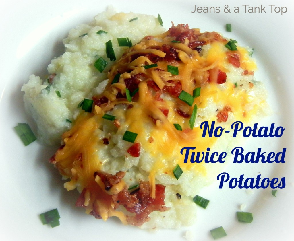 Featured No Potato Twice Baked Potatoes