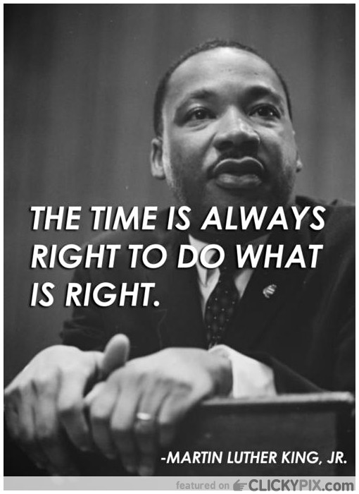 MLK Jr - The Right Thing