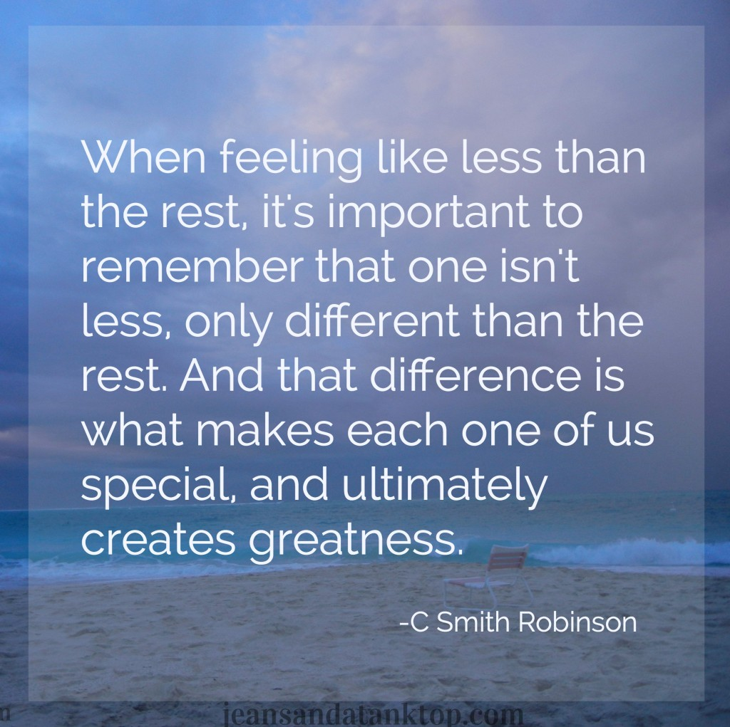 Different is greatness