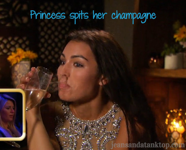 Ashley I Spits Champagne
