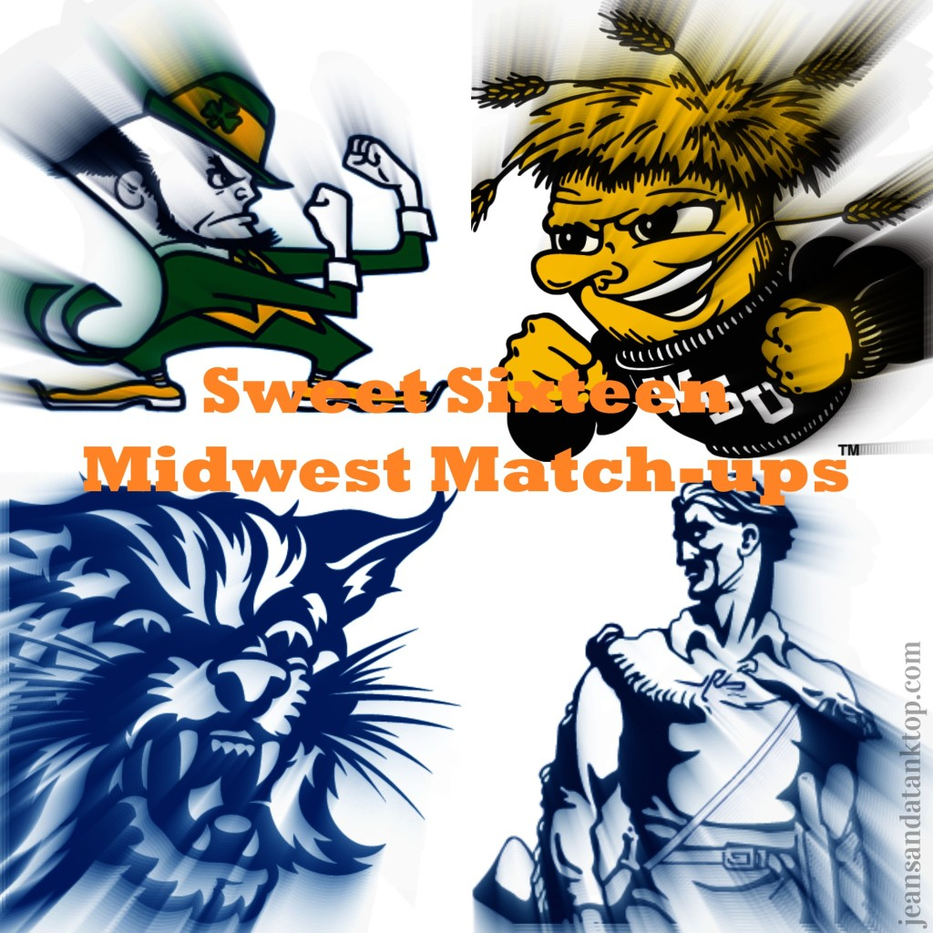 Sweet Sixteen Midwest Region Match Ups