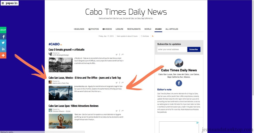 Cabo Times Daily News