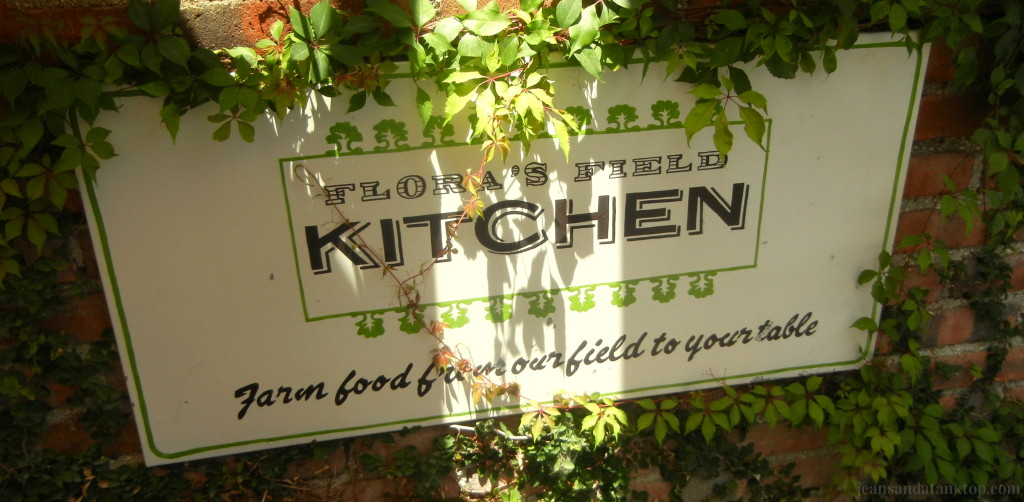 Flora Farm Field Kitchen Sign