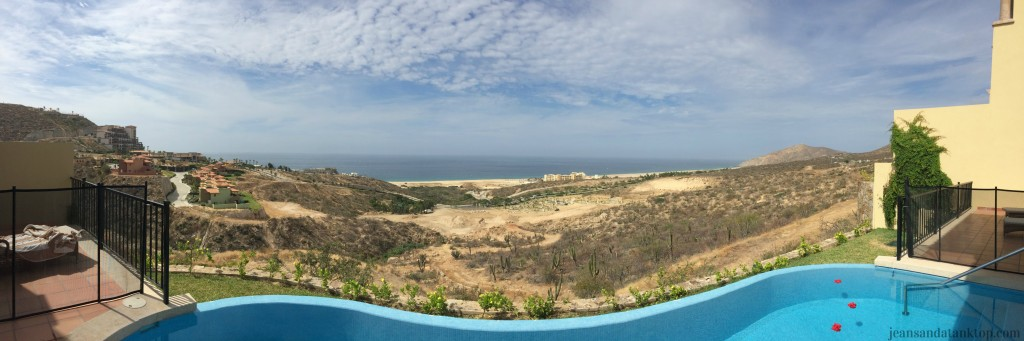 View from lower balcony of Montecristo Estates villa (open this in another window - the larger, the better)