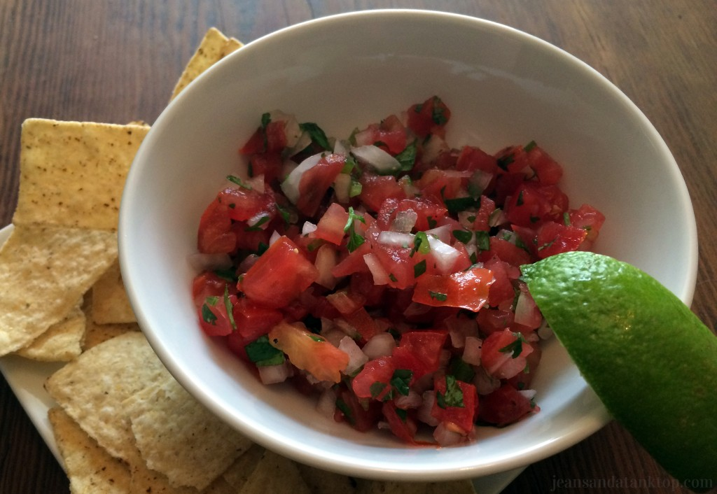 Pico de Gallo Plated