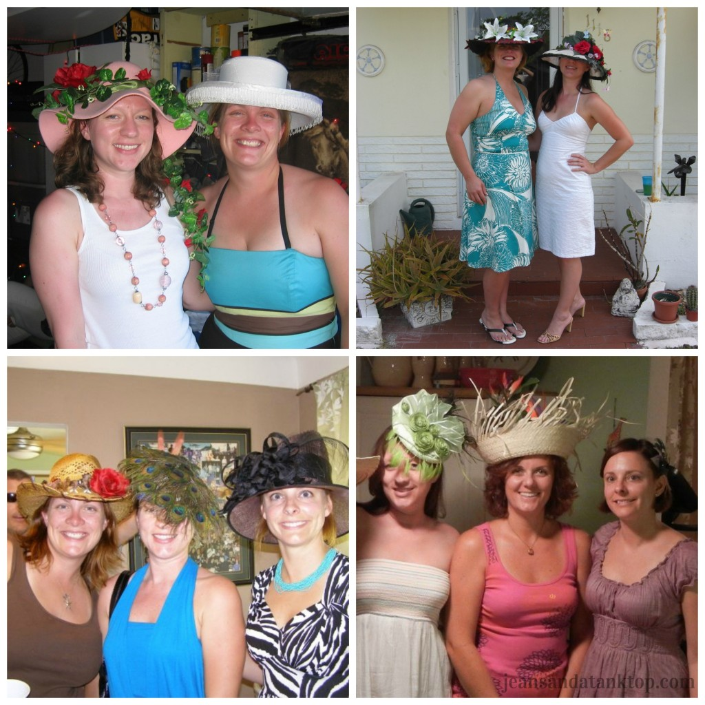 Kentucky Derby Party Hat Collage