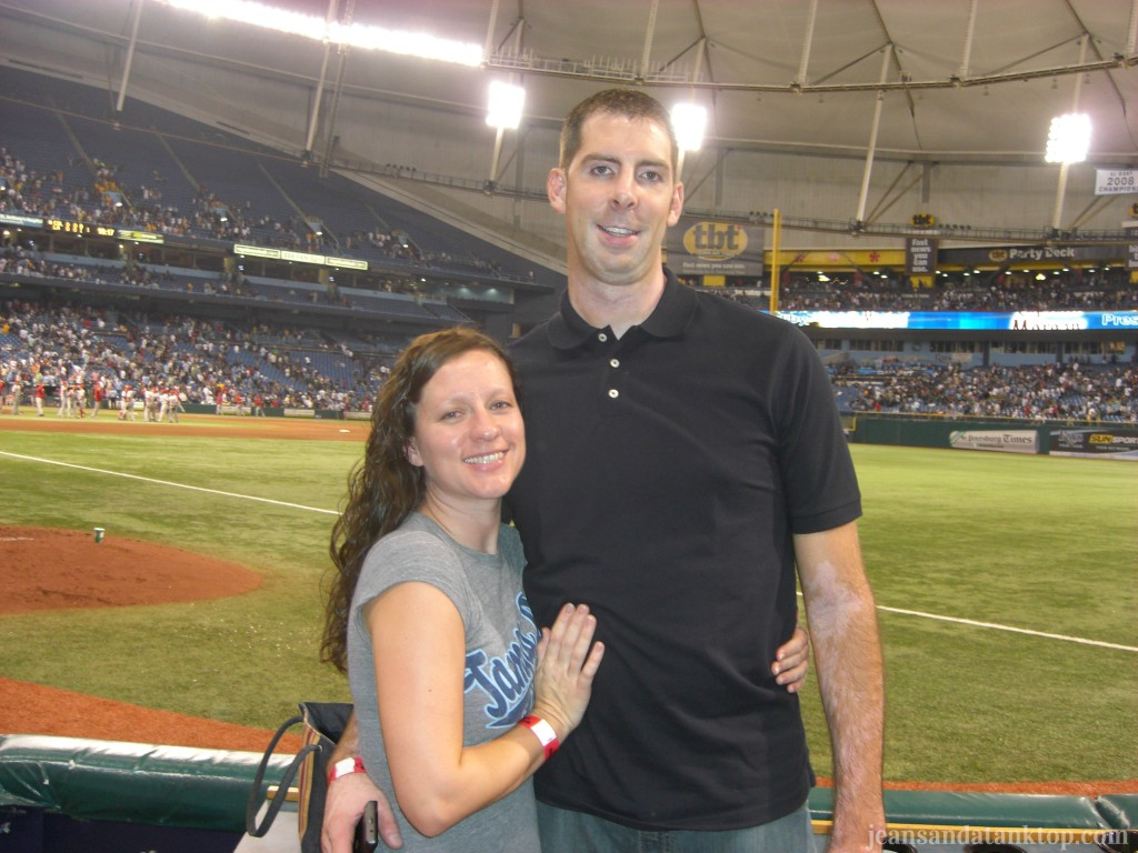 Tampa Bay Rays game, 2010