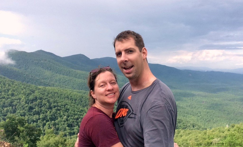 Blue Ridge Mountains Selfie Stick