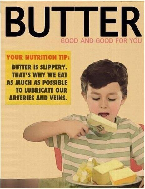 Butter Good For You