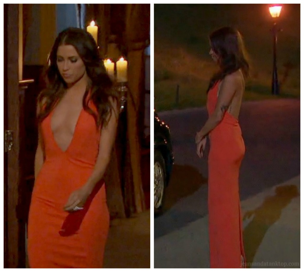 Kaitlyn Bachelorette Red Dress