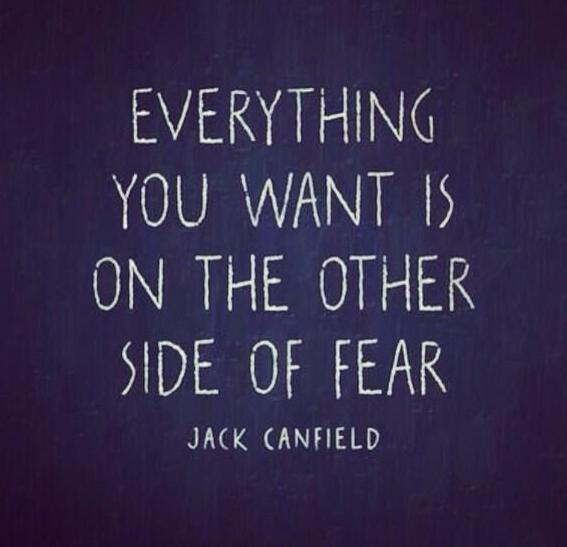 Jack Canfield fear quote