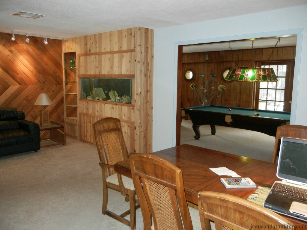 Dining Room toward living room Before
