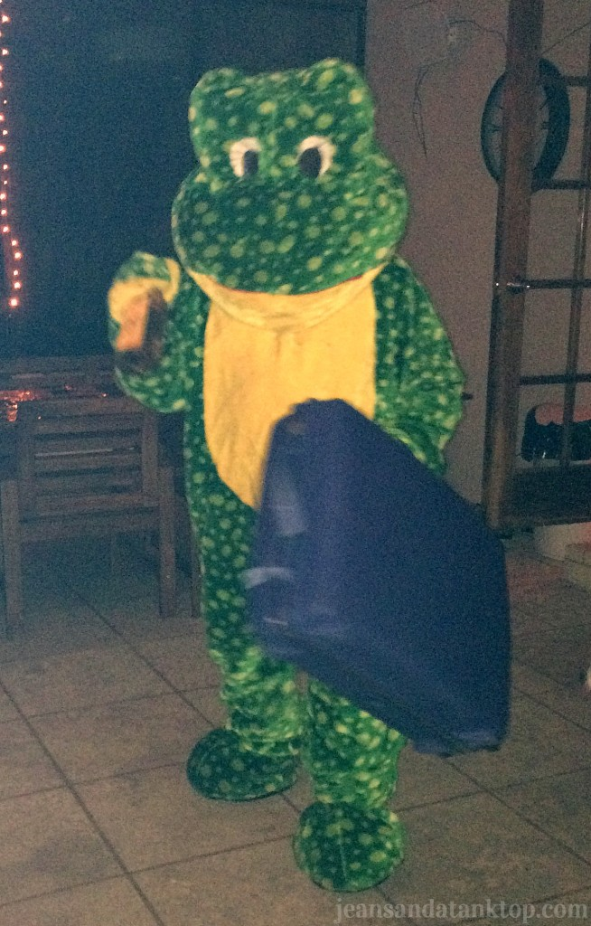 Fear and Loathing Frog in Las Vegas Halloween Costume