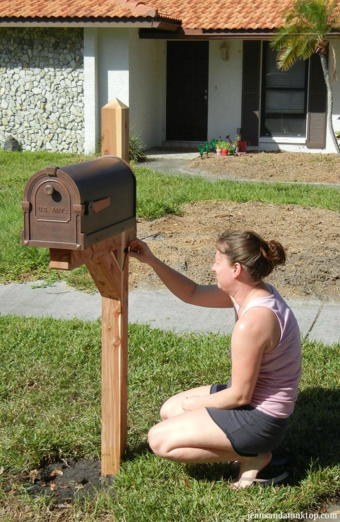 New Mailbox and Post 2012