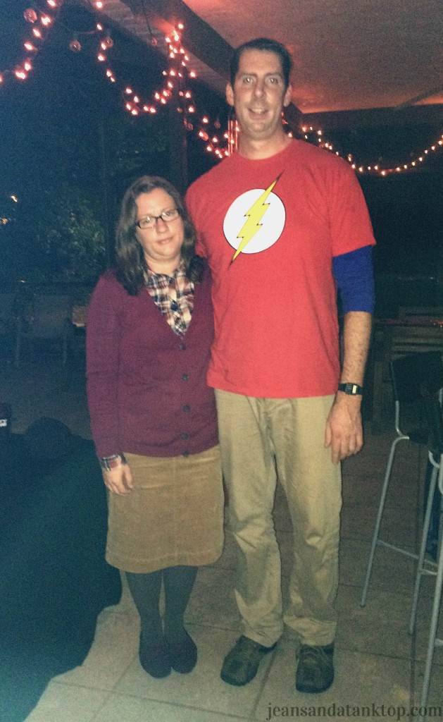 Sheldon Cooper and Amy Farrah Fowler Halloween Costume