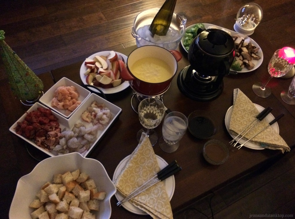 Christmas Fondue Feast