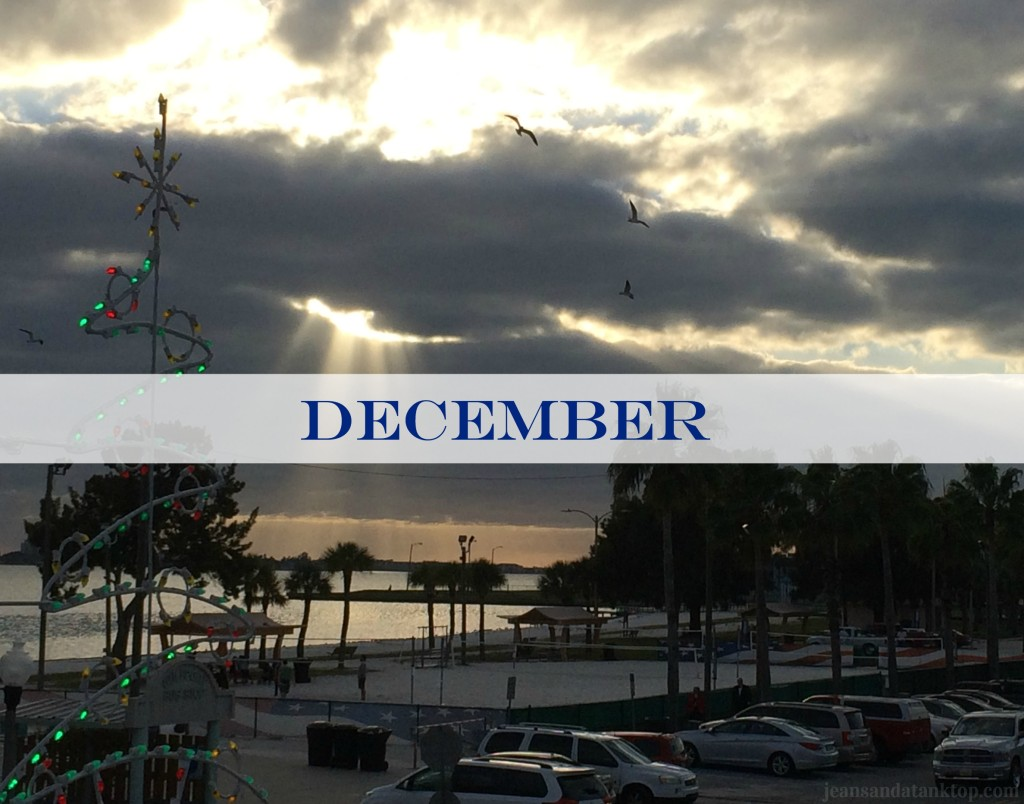 December Gulfport Sunset