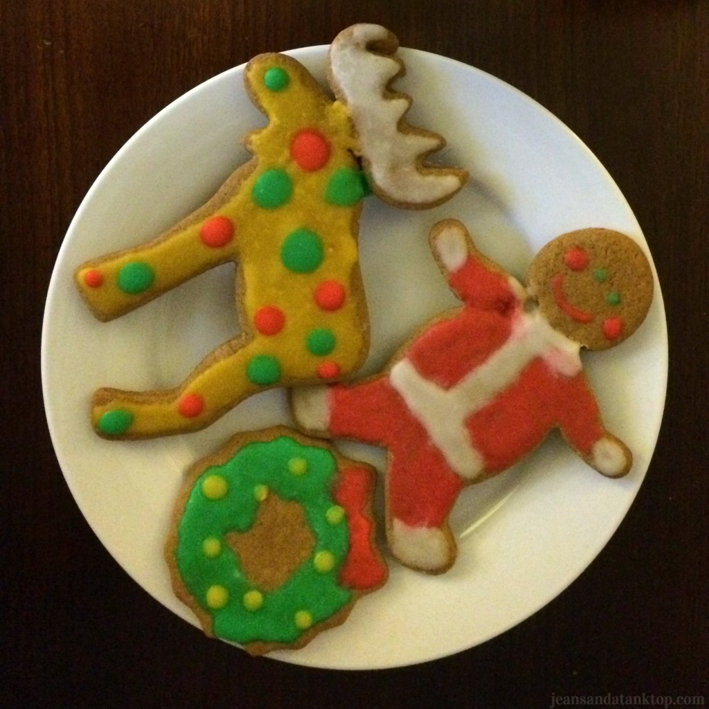 Decorated Gingerbread Cookies Whimsy