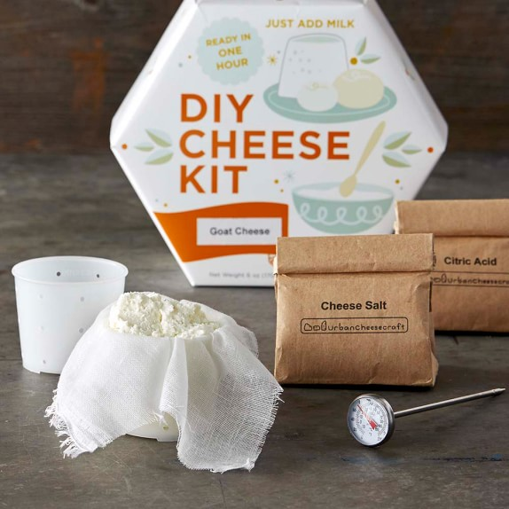 Williams Sonoma DIY Goat Cheese Chevre Kit