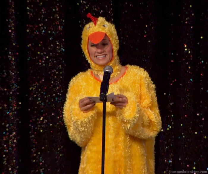 Bachelor Ben H Lauren H chicken costume