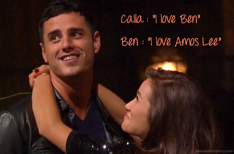 Ben Caila Amos Lee Bachelor