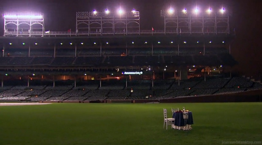 Bachelor Ben H Worlds Smallest Table Wrigley Field