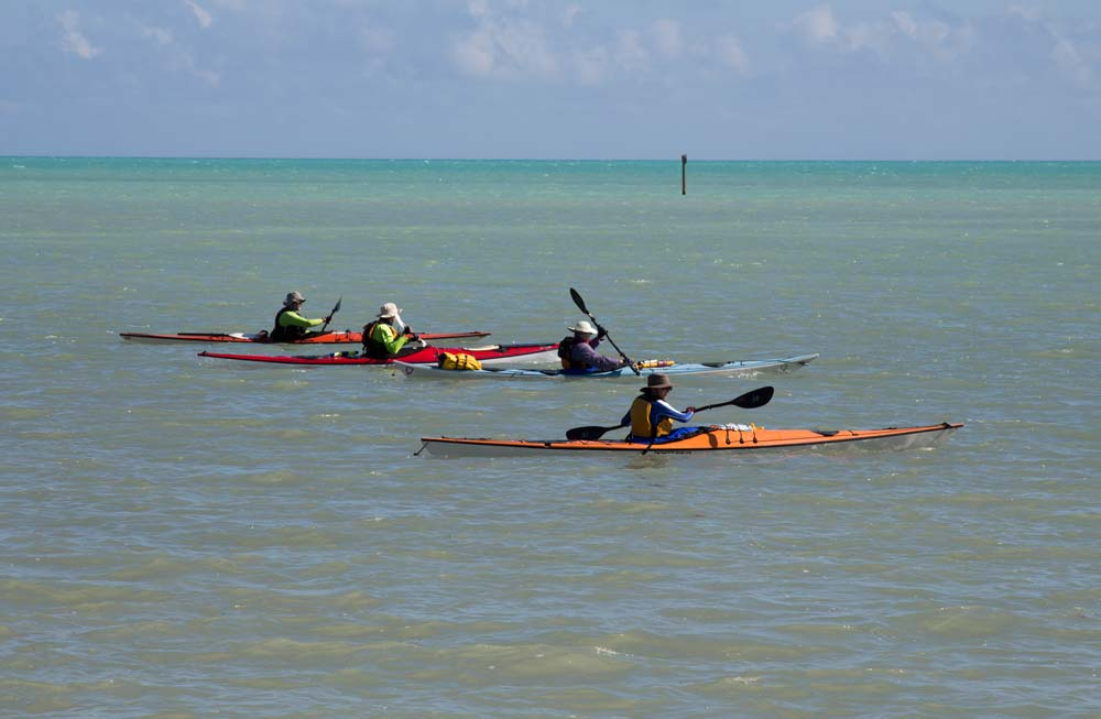 Florida-Keys-four-kayaks