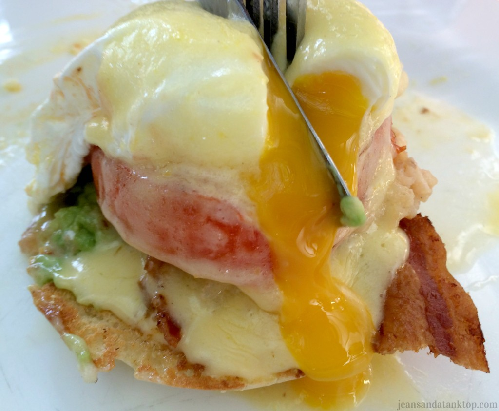 Key West Blue Heaven BLT Benedict