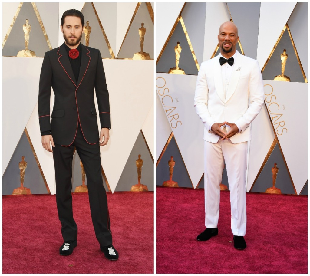Oscars 2016 Best Dressed Men Jared Leto and Common