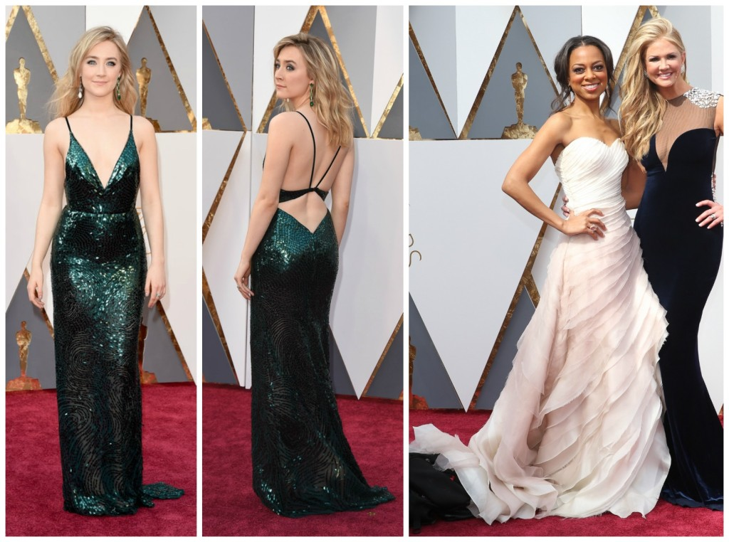 Oscars 2016 Mermaid Wedding Saoirse Ronan Calvin Klein Nischelle Turner Kelly Faetanini