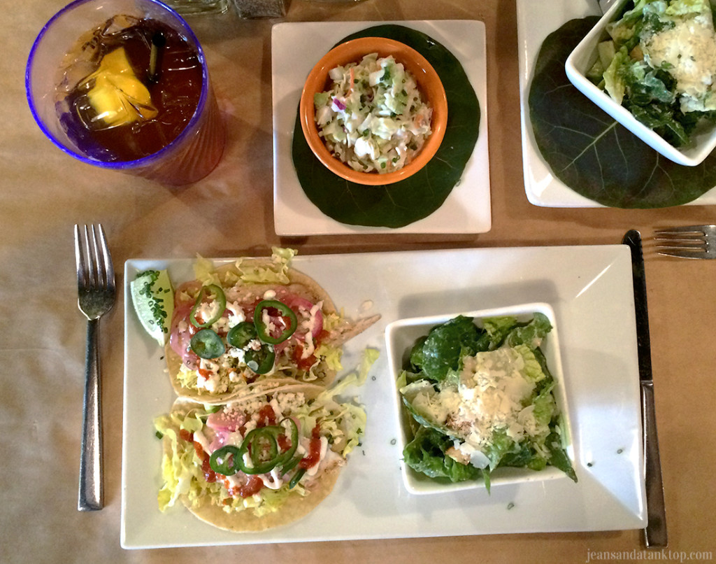 Square Grouper Fish Tacos