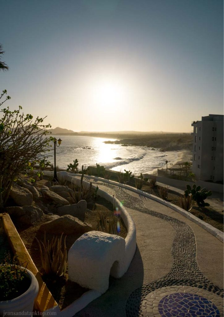 Sunset da Mona Lisa Cabo San Lucas Mexico sunset view