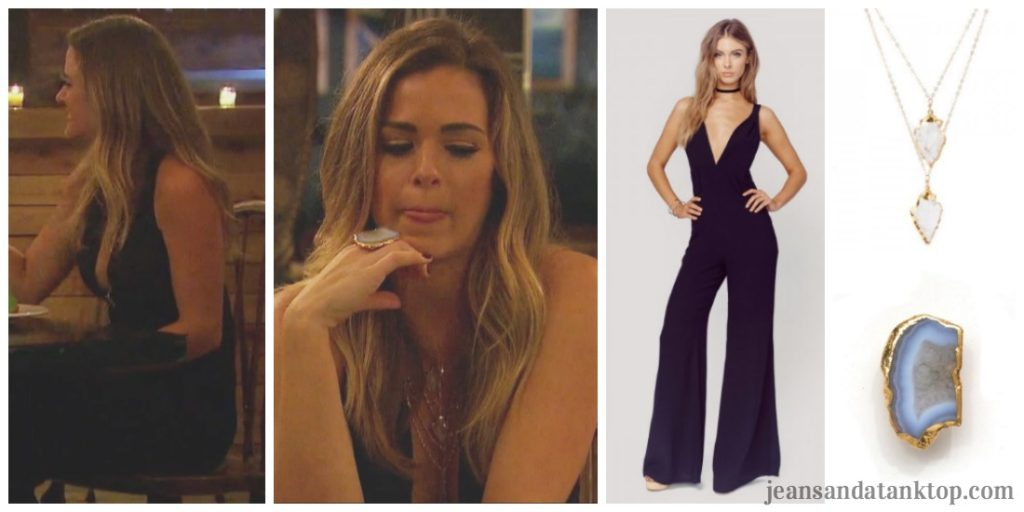 Bachelorette JoJo Episode 5 black jumpsuit
