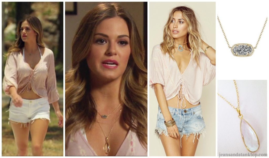 Bachelorette JoJo Episode 9 pink top white shorts Chase Thailand