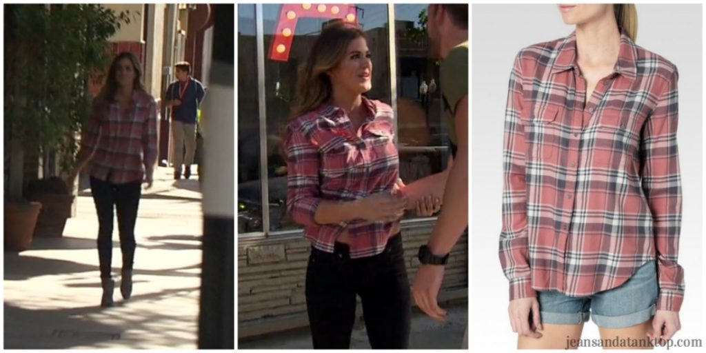 Bachelorette JoJo Episode 3 plaid shirt black jeans