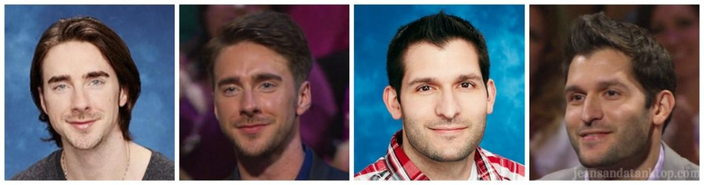 Bachelorette Men Tell All Brandon James F hairstyles