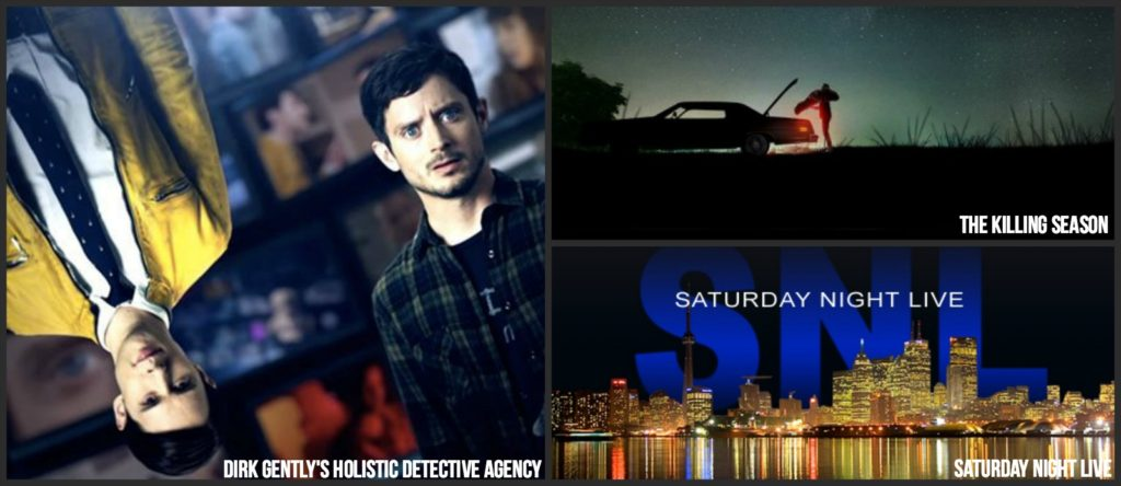 Saturday Fall 2016 TV shows schedule