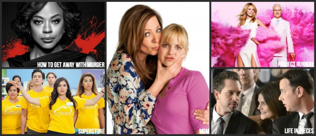 Thursday Fall 2016 TV shows schedule