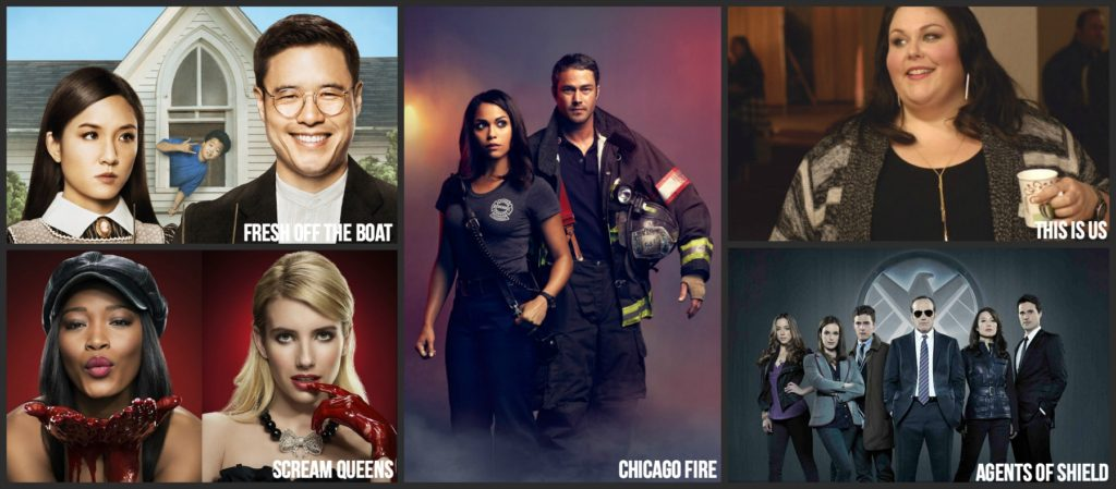 Tuesday Fall 2016 TV shows schedule