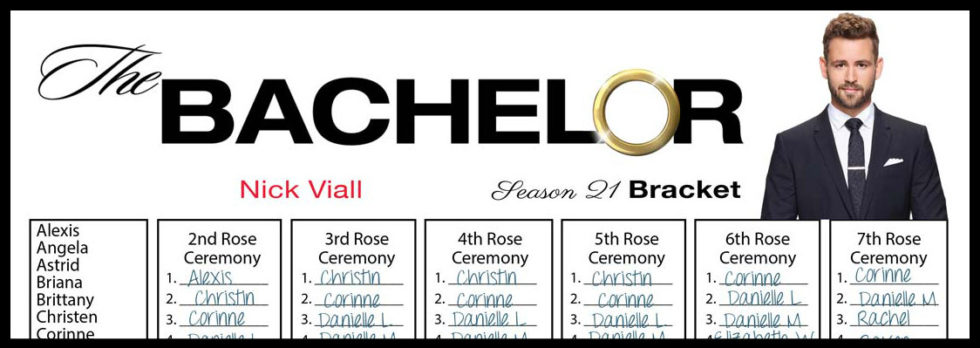 graphic about Bachelor Bracket Printable Nick identify Tag Archive for \