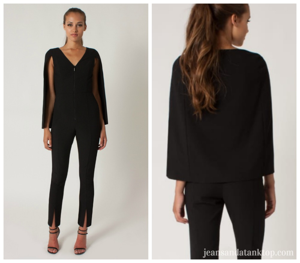 Bachelor After the Final Rose Rachel Black Halo jumpsuit