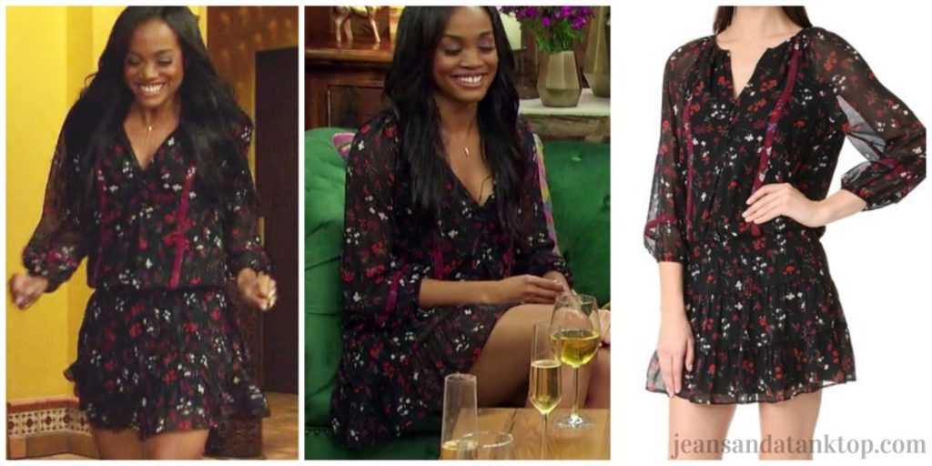 Bachelorette Rachel Episode 1 Joie Grover black dress
