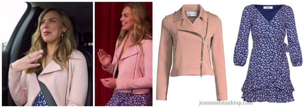 Bachelorette Hannah Episode 1 pink jacket blue dress
