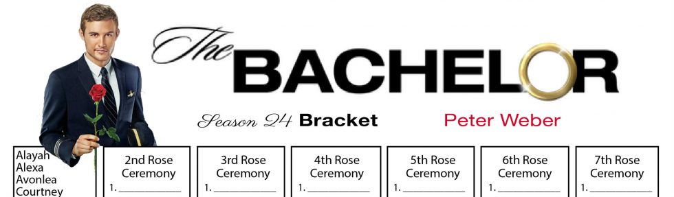 Peter Weber Bachelor Bracket Header