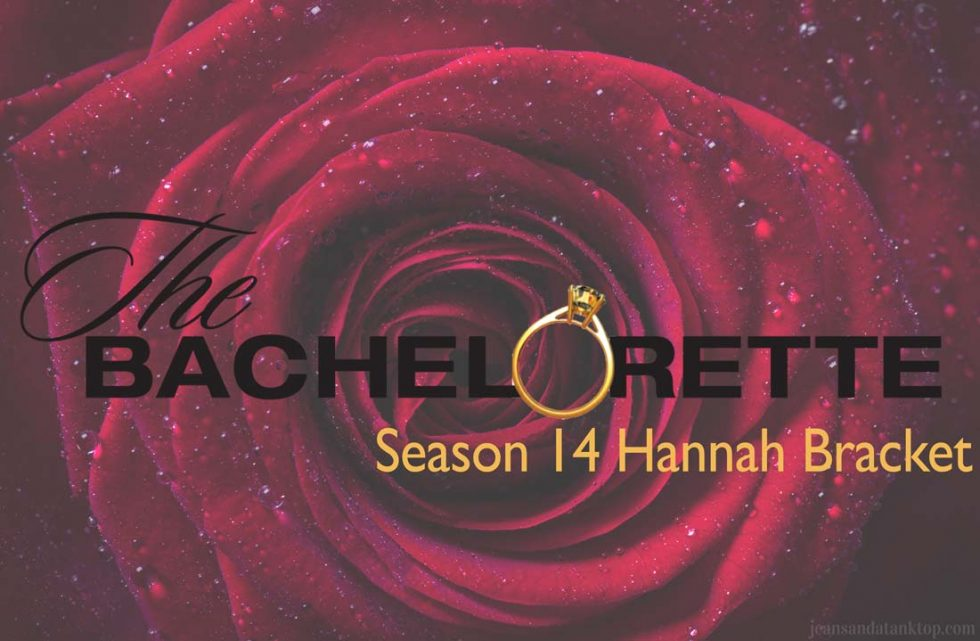 Bachelorette Hannah Bracket Blog Photo